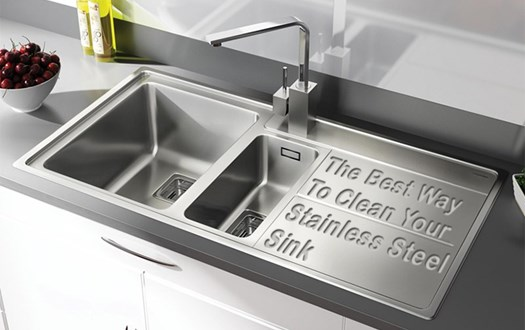 The Best Way to Clean Your Stainless Steel Sink | Tap Warehouse