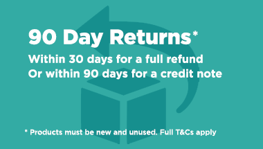 90 day returns, full refund within 30 days