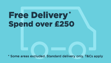 FREE delivery on orders over £250