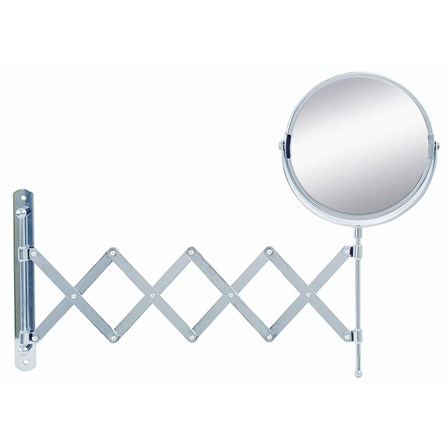 extendable bathroom mirror bathroom origins reversible amp extendable magnifying wall 12805