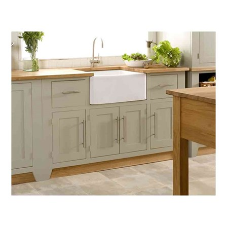 Gourmet Fireclay Ceramic Farmhouse Belfast Kitchen Sink