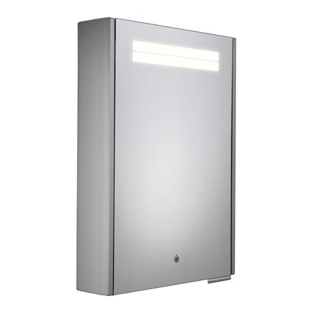 roper rhodes touch steam free led illuminated mirror cabinet with
