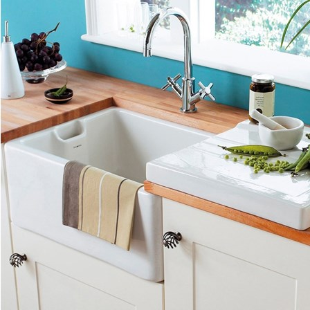 drainer for butler or farmhouse style sinks white tap warehouse