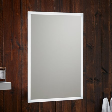 Bathroom mirrors with shaver sockets tap warehouse harbour glow led bluetooth mirror with demister pad shaver socket 500 x 700mm rollover image mozeypictures Image collections