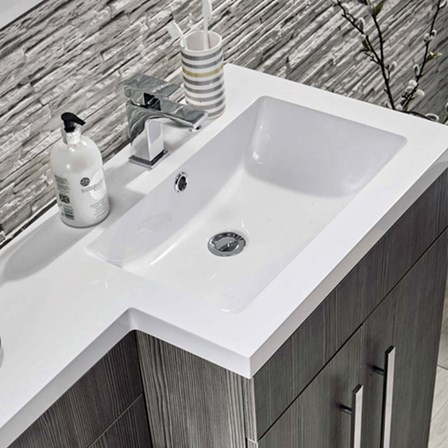 Harbour Icon 1100mm Combination Bathroom Toilet Amp Sink