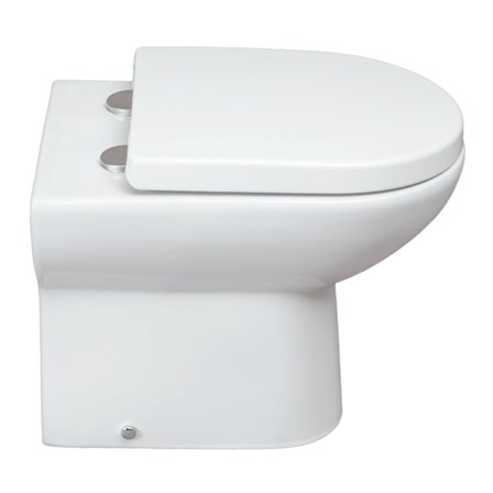 large d shaped toilet seat. View Larger Image  Gallery Vellamo Modern D Shaped Back To Wall Toilet With Soft Close Seat