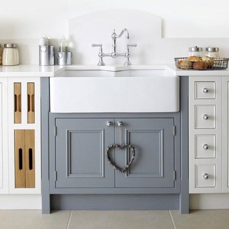 butler & rose ceramic fireclay double belfast kitchen sink & waste