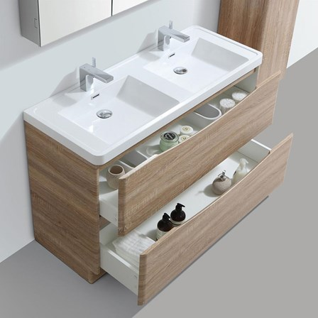Harbour clarity 1200mm floorstanding double basin vanity unit view larger image gallery image aloadofball Gallery