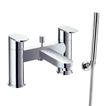 Flova Smart Deck Mounted Bath Shower Mixer With Handset