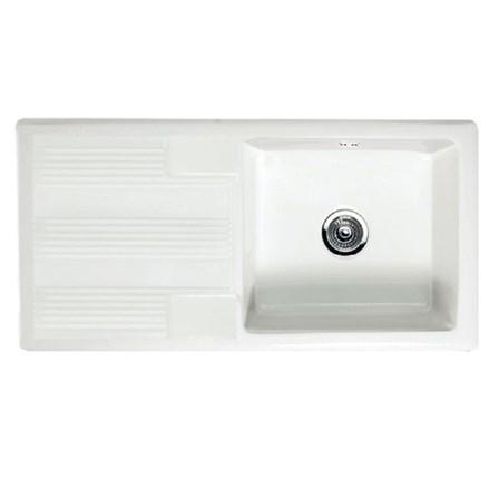 Butler Amp Rose 1 Bowl White Ceramic Kitchen Sink Amp Waste