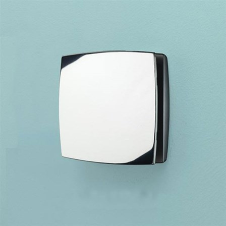 Hib Breeze Chrome Wall Or Ceiling Mounted Slimline Low