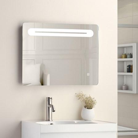 vellamo led illuminated bathroom mirror with demister pad shaving