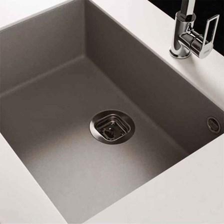 Reginox Quadra Single Bowl Granite Undermount Kitchen Sink