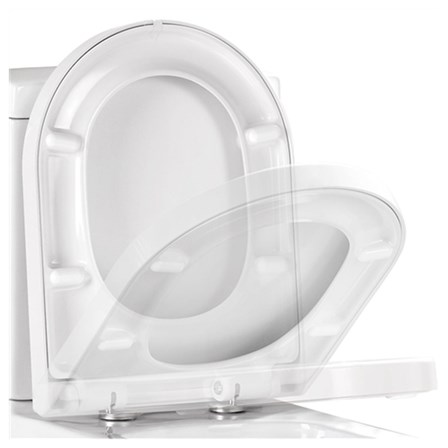 large d shaped toilet seat. View Larger Image Vellamo D Shaped Soft Close Toilet Seat With Quick Release Hinges