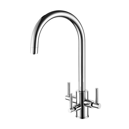 Clearwater Stella Triple Lever Mono Kitchen Mixer and Cold Filtered ...
