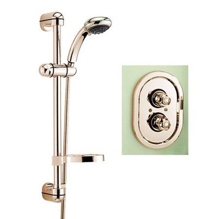 Tre Mercati Roma Concealed Thermostatic Shower Valve With Europa No2 ...
