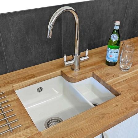 Undermount Kitchen Sink With Drainer undermount kitchen sinks | under worktop sinks | tap warehouse