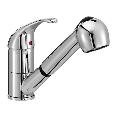 Vellamo Echo Pull Out Spray Kitchen Mixer Tap Rollover Image