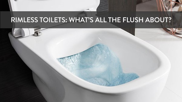 Rimless Toilets: What's All The Flush About?