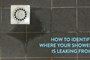 How to Identify Where Your Shower Is Leaking From