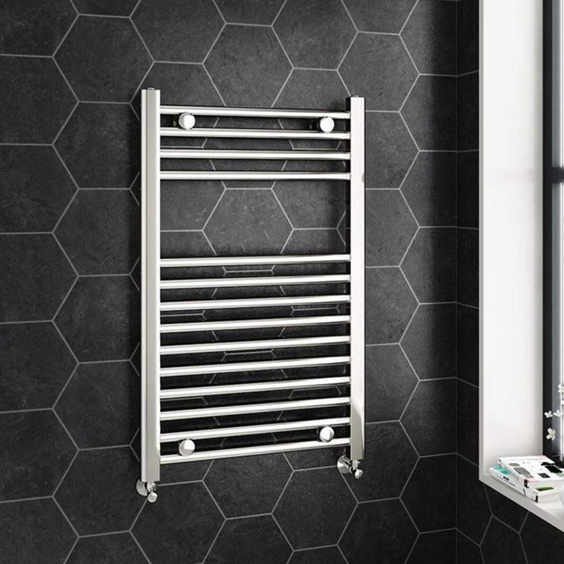 chrome-heated-towel-radiator