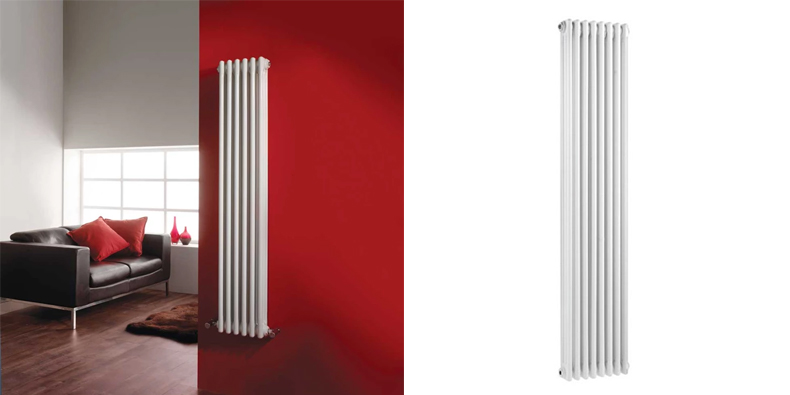 white-column-radiator-anthracite-column-radiator