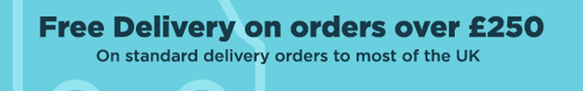 Free standard delivery on orders over £250 to most of the UK. T&Cs apply