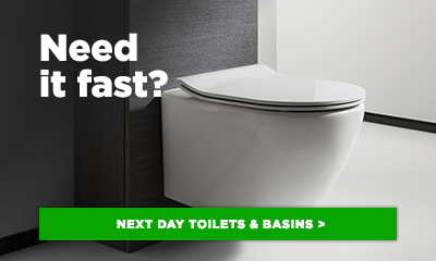 Next day toilets & basins