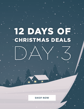 12 DAYS OF XMAS - EXCLUSIVE DEAL EVERY DAY!