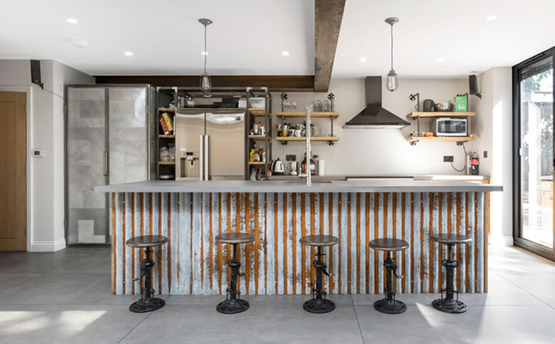 industrial-kitchen-bar-stools